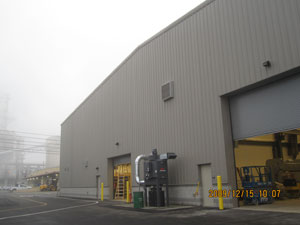 Shop/Warehouse/Administration Building, Blast-Resistant, Refinery site, Northern California.