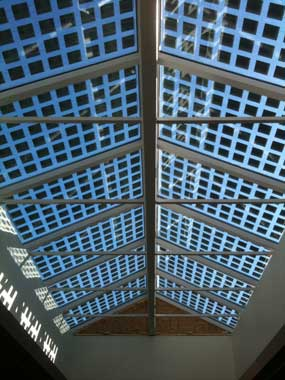 Solar Skylight Panels