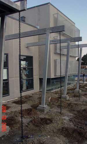 Process drives Blast-resistant facilities, while structure is required for resistance only. Structure costs must be minimized, and must be easily installed and maintained. Extensive coordination with mechanical, electrical, plumbing and process is required.